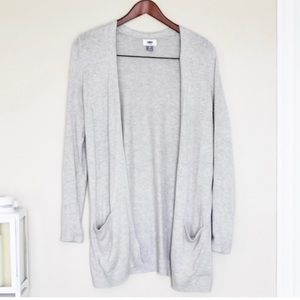 🌵Old Navy Open Front Gray Sweater